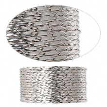 5 Feet Sterling Silver Dead Soft Twist Wrapping Wire ~ 20 gauge