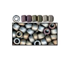 1 Vial Toho Matte Gray Seed Beads ~ 11/0 ~ Approx 2,240 Beads