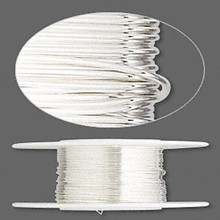25 Foot Spool Sterling Silver Dead Soft Round Wrapping Wire ~ 26 gauge