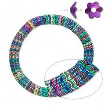 300 Multi Jewel Tone Steel Daisy Flower Bead Caps ~ 7x3mm ~ Fits 8-10mm Beads