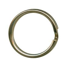"""144 Antiqued Brass Plated Steel Split Rings ~ Key Rings ~ 20mm ~ 3/4"""""""