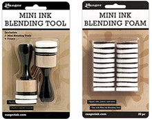 "Ranger Mini 1"" Blending Tool OR  Replacement Pads ~  For Blending of Inks"