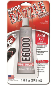 1 Ounce Shoe Dazzle Tube E6000 ~ Clear Jewelry & Craft Adhesive