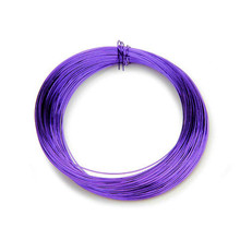 30 Yards Tarnish Resistant Grape Purple Wire ~ Wire Wrapping  26 Gauge