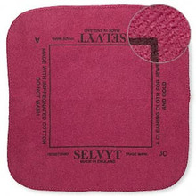 1 Selvyt Red Polishing Cloth ~ Quickly Cleans Sterling, Gold & Precious Metal Jewelry