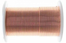 15 yard Spool BeadSmith Tarnish Resistant Copper 1/2 Hard Wrapping Wire ~ 20 Gauge
