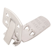 12 Steel Square Shoe Clips ~ 24x12mm  ~ Use like Clip-on Earrings But for Shoes