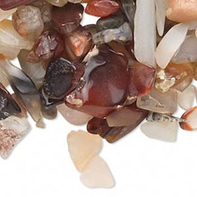 50 Grams Gemstone AGATE MIX Small to Medium Chips ~ UNDRILLED Embellishment *