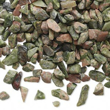 50 Grams Unakite (natural) Undrilled Chips Embellishment Mix *
