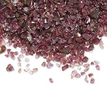 50 Grams Garnet Natural Mini UNDRILLED Chips ~  Embellishment