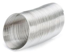 1 oz Silver Stainless Steel Memory Wire ~ 3/4 Inch RING