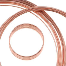 50 Loops Copper Plated Stainless Steel Memory Wire Bracelet, Ring & Necklace MIX