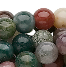 1 Strand Natural Fancy Jasper 4mm Round Gemstone Beads