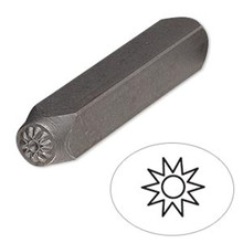 1 Tempered Steel  6mm SUN Stamp Punch