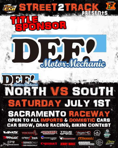 Title Sponsor for North vs. South coming up July 1st