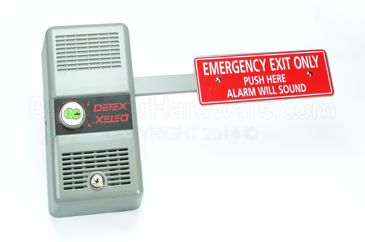 Detex ECL 230-D Exit Alarm  sc 1 st  Best Door Hardware & Quality Exit u0026 Panic Devices | Commercial and Glass Panic Door ... pezcame.com