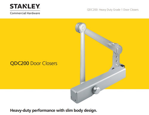Stanley Heavy Duty Door Closer (QDC 200 SERIES) w/ Cover
