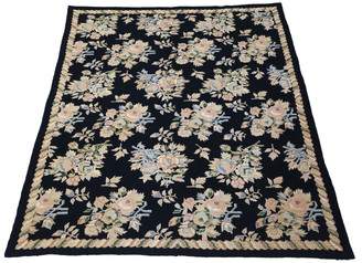 William Morris Style needlepoint rug carpet
