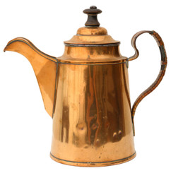 Copper tea pot C1940