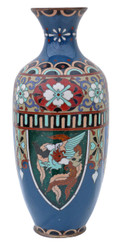 Early 20th Century Japanese cloisonne vase