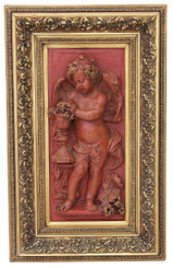 Large relief sculpture statue work of art angel
