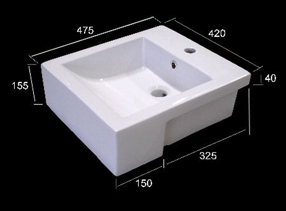 Rectangular Basin D8050i