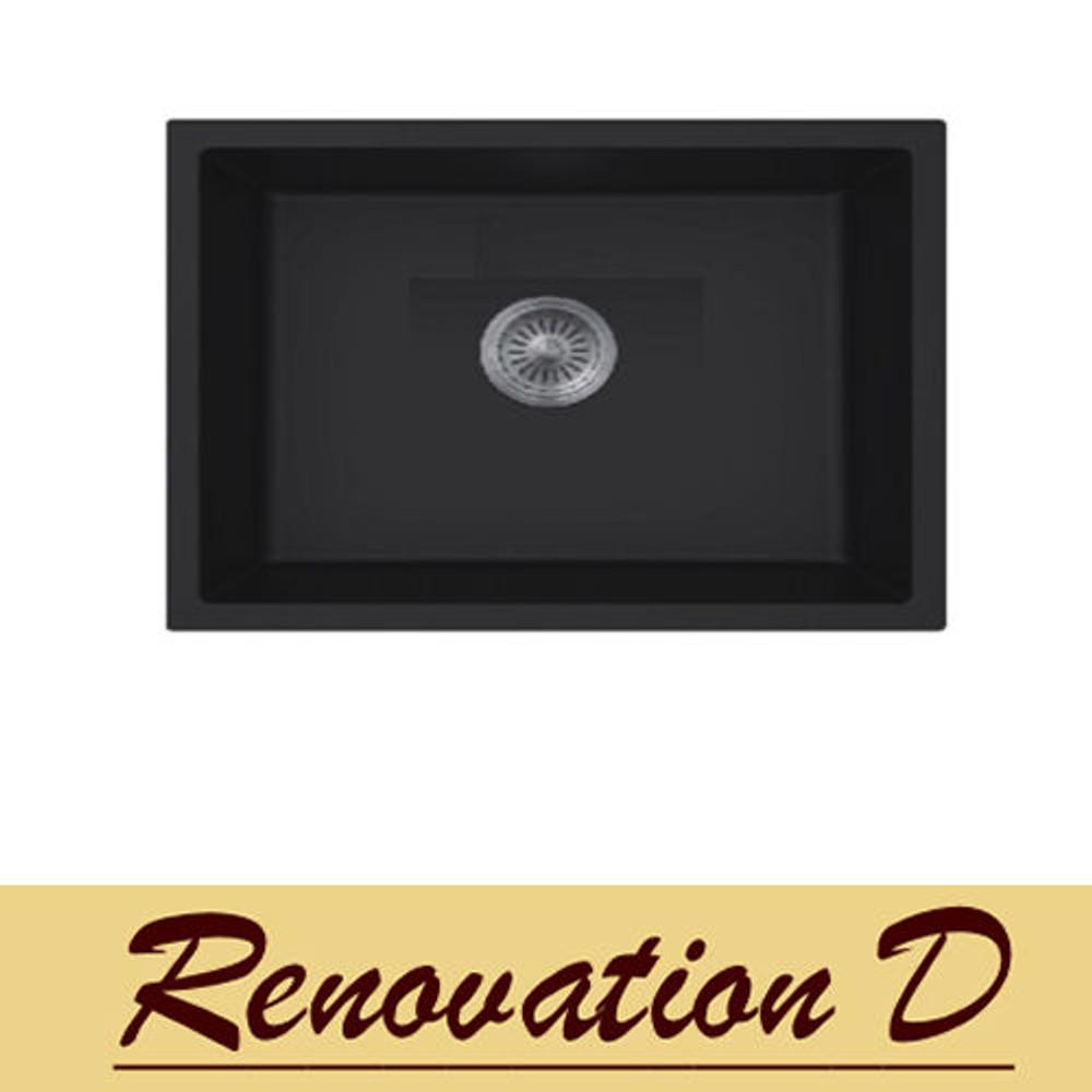 Normandy Granite Sink - Single Bowl 610 x 465