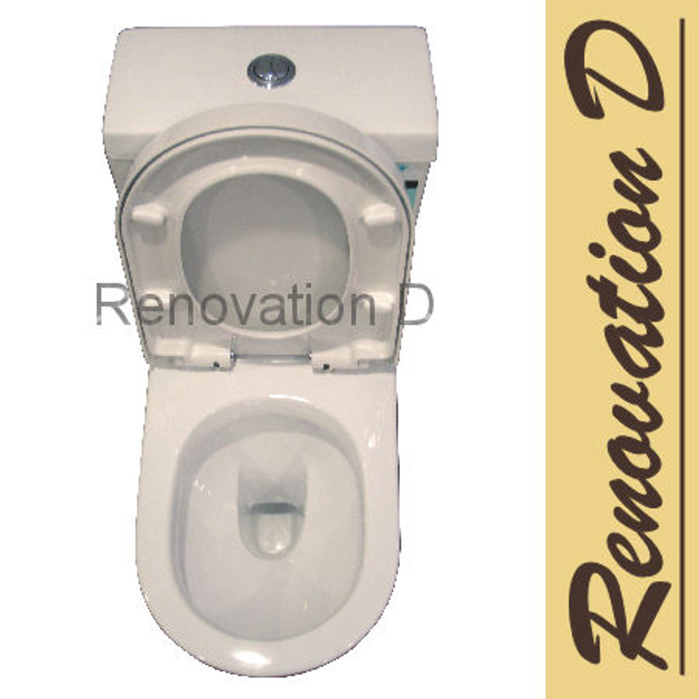 Normandy Barton Wall Faced Toilet Suite - Geberit Valve & Hygiene Coating