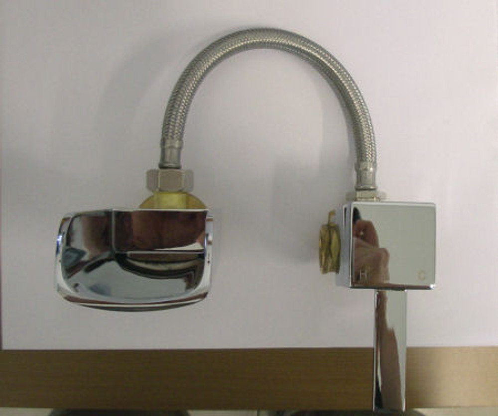 Normandy Bathroom Bath Mixer Tap + Channel Spout