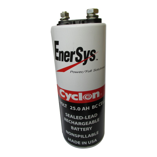 0820-0004 Enersys Cyclon Battery - 2 Volt 25.0AH BC Cell Hawker Gates