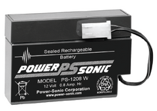 Power-sonic PS-1208 W Battery - 12 Volt 800 mAh