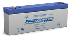 Power-sonic PS-1220 Battery - 12 Volt 2.5 Amp Hour