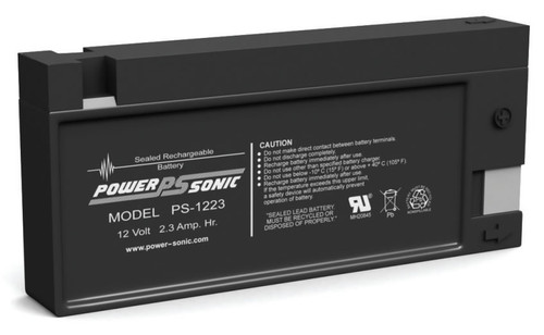 Power-sonic PS-1223 Battery - 12 Volt 2.3 Amp Hour