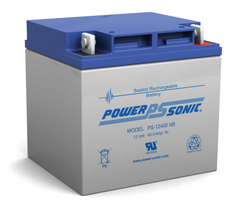 Power-sonic PS-12400  Battery - 12 Volt 40.0 Amp Hour