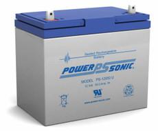 Power-sonic PS-12550 U Battery - 12 Volt 55.0 Amp Hour