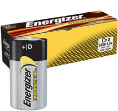 Energizer EN95 D Cell Industrial Battery (12 Pack)