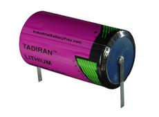 Tadiran TL-5930/T Battery - 3.6 Volt 19Ah D Lithium (Solder Tabs)