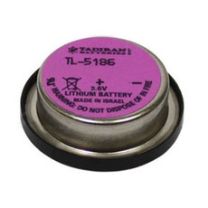 Tadiran TL-5186 - TL-5186/P Battery - 3.6V 400mAh Lithium Bel Wafer