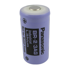 Panasonic BR-2/3AG 3V Lithium Battery - BR-2/3A High Capacity Purple