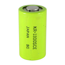 Panasonic KR-1800SCE Sub C Cell NiCd Battery - 1.2 Volt 1800mAh