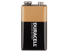 Duracell MN1604 9 Volt Coppertop Battery