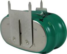 Varta 2/V150H, 55615-302-059 Battery - 2.4 Volt 150mAh NiMH Pack
