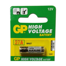 27A - GP27A GP Battery - 12 Volt High Voltage