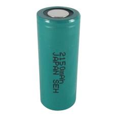 FDK HR-4/5AU 4/5 A Cell NiMH Battery - 1.2 Volt 2150mAh Flat Top