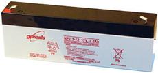 NP2.3-12FR Battery Enersys 12 Volt 2.3 AH