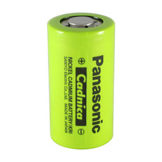 Panasonic N-3000CR C Cell NiCd Battery - 1.2 Volt 3000mAh Flat Top