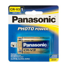 Panasonic CR-V3 Lithium 3V Battery -3 Volt Rep. DLCRV3B, ELCRV3, KCRV3