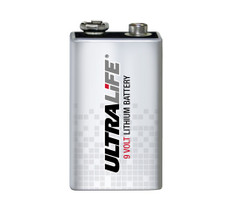 U9VL-J-P - Ultralife 9 Volt Lithium Battery-9V-U9VLJPBK