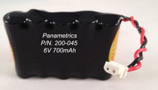200-045 GE Panametrics Battery - 6V 700mAh Nickel-Cadmium