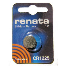 Renata CR1225 Battery - 3 Volt 50mAh Lithium Coin Cell